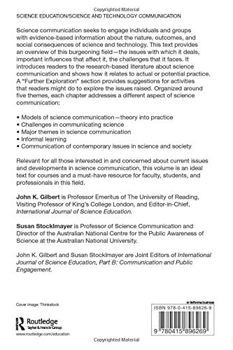 Communication and Engagement with Science and Technology: Issues and Dilemmas - A Reader in Science Communication