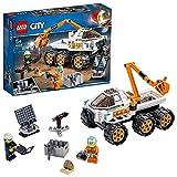 Lego City Space Port- City Space Port Prova di Guida del Rover Ispirato alla NASA con Braccio Snodabile e Due Minifigurine, Set di Costruzioni per Bambini dai 5 Anni, Multicolore, 60225