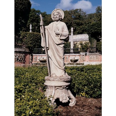 Design Toscano St. Jude, Patron Saint of Hopeless Cases Garden Statue