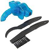 Silverline 455400 - Juego de accesorios para limpieza de cadenas y piñones, 3 pzas (3 pzas)