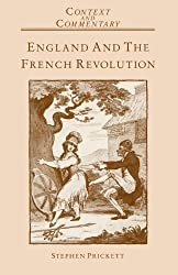 England and the French Revolution (Context & Community) by Stephen Prickett (1988-11-25)