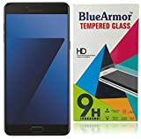 BlueArmor HD Clear Tempered Glass Screen Guard Protector for Samsung Galaxy C7 Pro