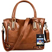 Vbiger Damen Handtaschen Damen Henkeltaschen Elegante Umhängetasche für Damen weibliche Schultertasche