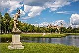 Poster 120 x 80 cm: Park von Schloss Schwerin
