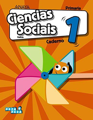 Ciencias Sociais 1. Caderno. (Peza a Peza)