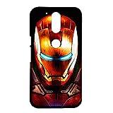 Hamee Printed Hard Back Cover / Case for Motorola Moto G Play 4th gen (Motorola Moto G4 Play) Iron Man
