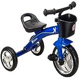 Kiddo Blue 3 Wheeler Smart Design Kids Child Children Trike Tricycle Ride-On Bike 2-5 Years New - Blue