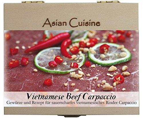 Vietnamese Beef Carpaccio – 8 Gewürze Set für die vietnamesische Rindfleisch (52g) – in einem...