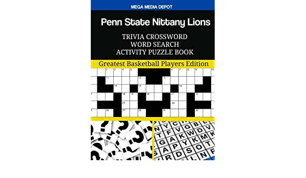 Buy Penn State Nittany Lions Trivia Crossword Word Search Activity