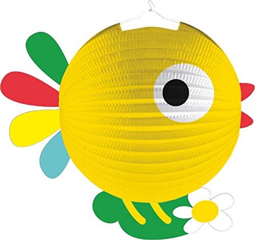 Lampion * SÜSSES KÜKEN * als Deko oder Spiel für Kindergeburtstag, Halloween oder Karneval // Mottoparty Motto Party Laterne Farm Bauerhof Tiere