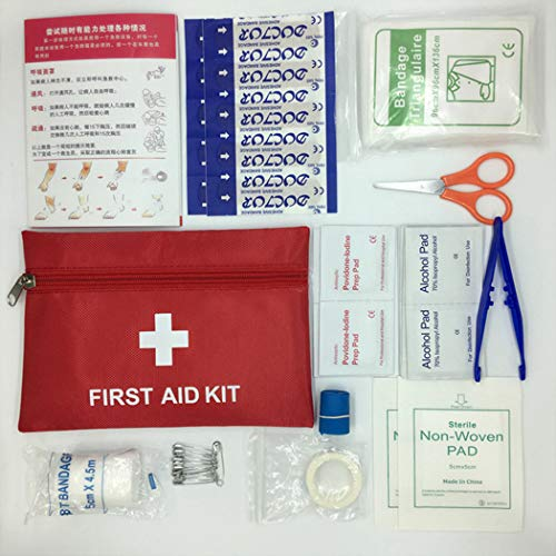 Mini Essentials Kit (Fansport 43PCS Notfall Kit Mini Portable Essential Notfall Kit Reisesicherheits Kit)