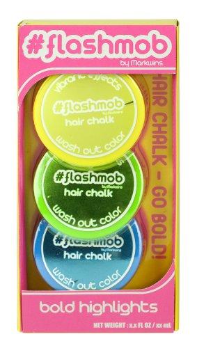 Flashmob Haarkreide mit Draht, Brazen