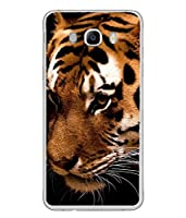 This is Durable Silently Looking Killer Bengal Tiger Transparent Designer Case made up of Hard Polycarbonate Plastic with Metal Printed Area and This Case is very much safe for your Samsung Galaxy J5 (6) 2016 :: Samsung Galaxy J5 2016 J510F :...