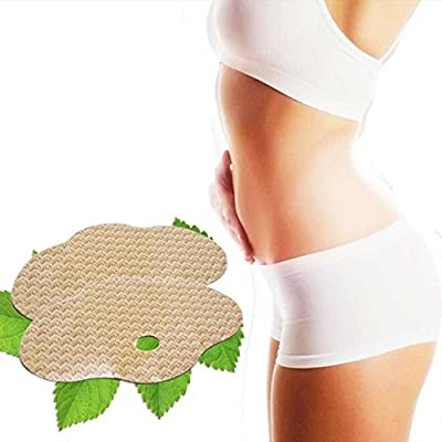 5 PCS Belly Slimming Patch, douleway Slim Patches for Weight Loss Fat Burner Natural Ingredients Belly Abdomen Leg Arm Weight Loss