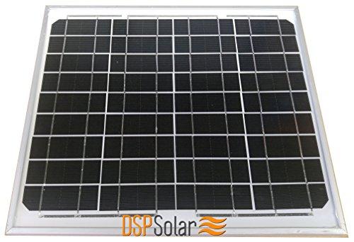Foto de Placa Solar Fotovoltaica 10W/12V