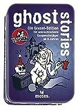 Moses. Black Stories Junior Ghost Stories | 100 Gruselige Rätsel | Das Rätsel Kartenspiel für Kinder