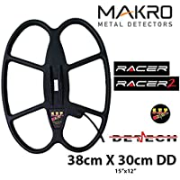 DETECH Bobina de búsqueda Impermeable de 15 × 12 pies para Makro Racer & Makro Racer