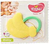 #10: Buddyboo Combo of 3 High Quality Food Grade Baby Fruit Shape Teether , Bpa Free (Multi color)