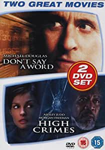 Don't Say A Word/High Crimes [DVD]