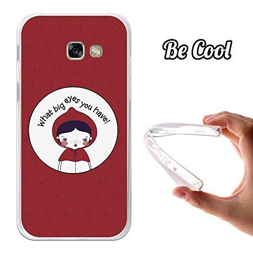 Becool® - Funda Gel Flexible para Samsung Galaxy A5 2017, Carcasa TPU fabricada con la mejor Silicona, protege y se adapta a la perfección a tu Smartphone y con nuestro exclusivo diseño. Caperucita Roja