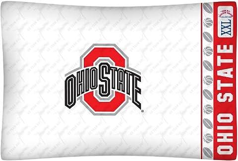 NCAA Ohio State Buckeyes Micro Fiber Pillow Case Logo
