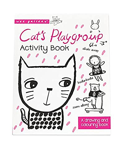 Cat's Playgroup: A Drawing and Coloring Book (Wee Gallery Activity Books)
