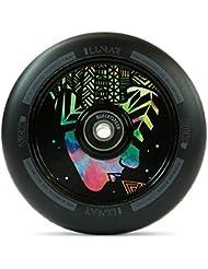 Lucky lunar Hollow Core Patinete de rollo 110mm + Fan tic26Pegatinas, Evo Art