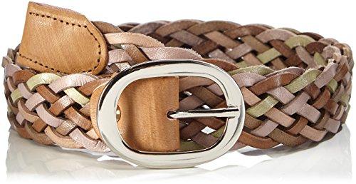 mgm-plaited-ceinture-femme-multicolore-taupe-kombiniert-11-100-cm