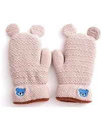 Lishy 2017 New Baby Boys Girls Leaf Gloves Warm Soft Mittens Gloves