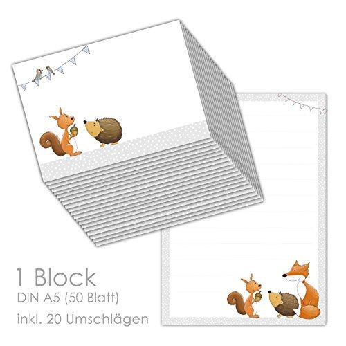 Briefpapier / Briefblock