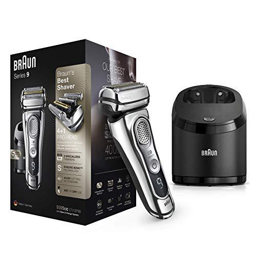Braun Series 9 9395cc Afeitadora Eléctrica Hombre Última Generación: Afeitadora Barba con Estación...