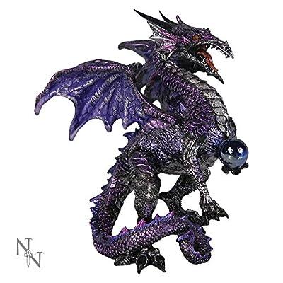 Purple Dragon Protector 15 cm ornament figurine by Nemesis Now AL50263