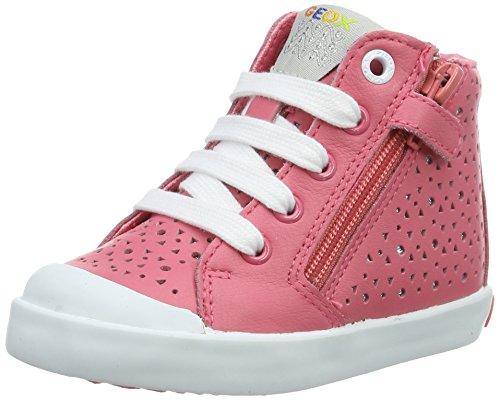 Geox B Kiwi A, Chaussures Marche Bébé Fille Rouge (Lt Coralc7454)