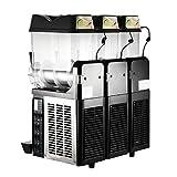 Moracle Máquina de Bebidas Congeladas Máquina de Granizados 3x12L Máquina de Bebidas Congeladas 3...