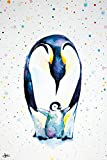 Close Up Pinguin Poster Little Steps Marc Allante (61cm x 91,5cm)