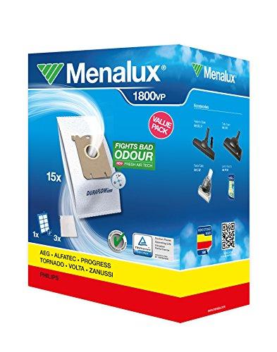 Preisvergleich Produktbild Menalux 1800 VP / 15 Staubbeutel / 3 Motorfilter / 1 Hepa-13-Filter/waschbar / Electrolux/Phillips / S-Bag-Modelle