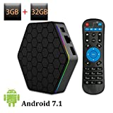 Android TV Box T95Z Plus Android 7.1 with 3GB RAM 32GB ROM Amlogic Octa Core Media Player Support 4K Resolution 2.4G/5G Dual WIFI 1000M LAN BT 4.0