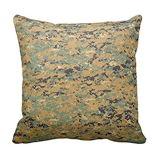 (Wensing Marine Corps Digital Woodland Camouflage Kissen Fall 45,7x 45,7cm)