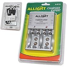 Caricabatterie Caricatore Batterie Stilo 9V Ministilo AAA Mignon AA Ricaricabili