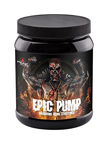 PEAK Epic Pump Fresh Berry 500g  Hardcore Booster   Extrem Pump   Pre Workout Booster   Trainings Booster   Fokus beim Training  