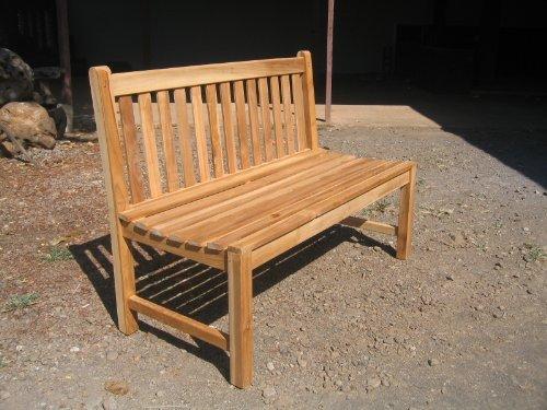 Teak Gartenbank Picadelly 150cm ohne Armlehne A Grade NEU