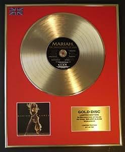 MARIAH CAREY/EDITION LIMITEE/CADRE DISQUE D'OR CD ET VINYLE/EMANCIPATION OF MIMI