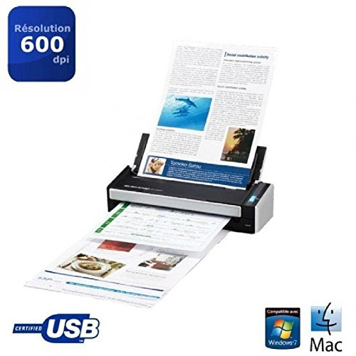 Fujitsu ScanSnap S1300i - scanners (216 x 360 mm, A4, 600 x 600 DPI, Business Card, Envelopes, Photo paper, Plain paper, USB 2.0, AC/USB)