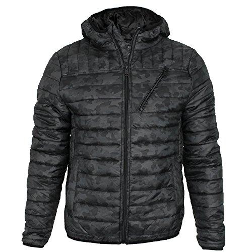 Threadbare Herren Jacke * One size Schwarz-Camo