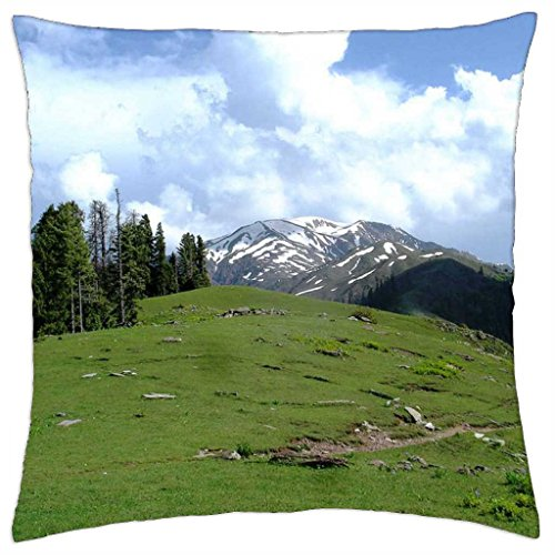 Latest mountains - Throw Pillow Cover Case (18