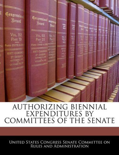 AUTHORIZING BIENNIAL EXPENDITURES BY COMMITTEES OF THE SENATE