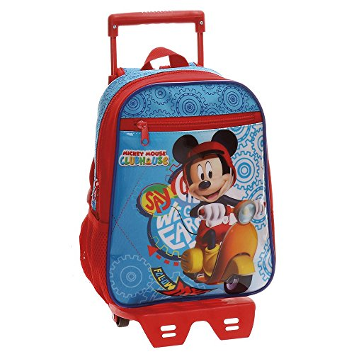 Imagen de joumma mickey  escolar, 28 cm, multicolor alternativa