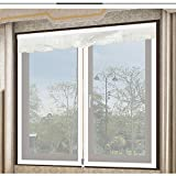 Fenster-bildschirme mücke resistente,Magnetische tür full-frame-selbstklebende velcro abnehmbare bildschirm tür siebgewebe-E 200x150cm(79x59inch)