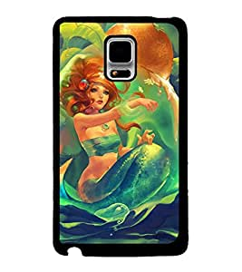 TOUCHNER (TN) Monster Back Case Cover for Samsung Galaxy Note Edge::Samsung Galaxy Note Edge N915