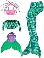 zeemeerminstaart met monovin zwemmen voor meisjes shepretty